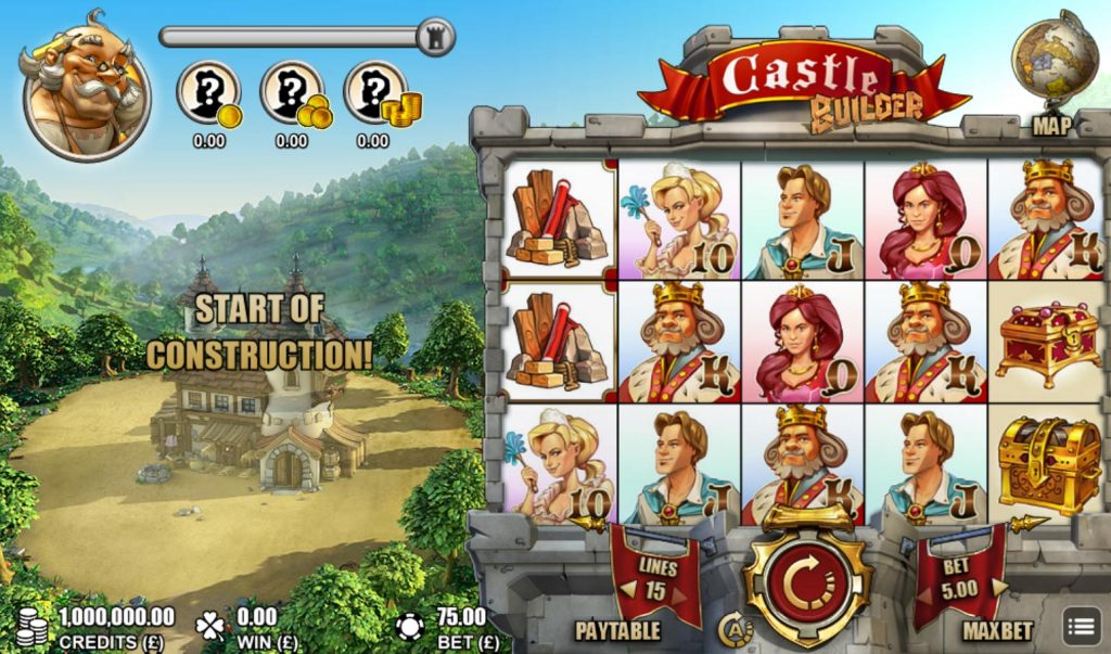 Building up those Jackpots with the Castle Builder Slots