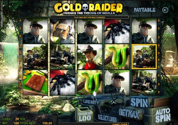 All you Raid is Gold! – Gold Raider Slot