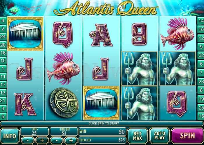 Ruling the Mythical Aquatic Kingdom- Atlantis Queen Slot
