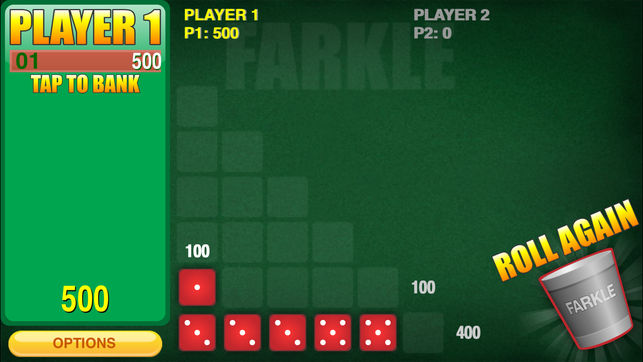 Mobile iPhone Farkle Casino Gaming