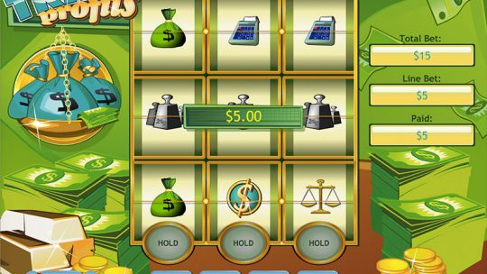 Triple Profits Online Slot Game Overview