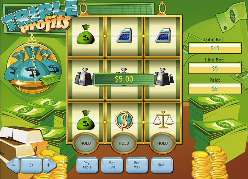 Triple Profits Online Slot Game Overview