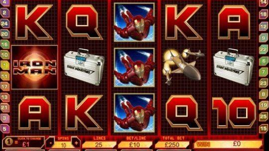 Iron Man Slot Review