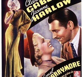 A review of Saratoga – Gable and Harlow's Final Film Together